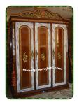 Jepara Mebel >jual lemari pakaian 3 pintu