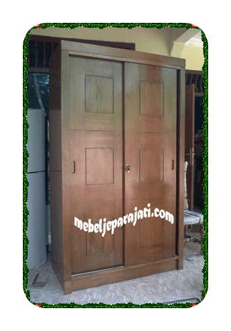 mebellemari-pakaian-sliding-2-pintujepara