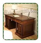 Meja kantor kayu >jual model meja kantor
