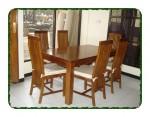 Set kursi meja makan minimalis