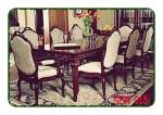 Set meja kursi makan kayu jati jepara