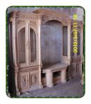 Bufet kayu jati ukiran terbaru 2012-modern