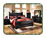 Furniture minimalis set kamar tidur jati modern
