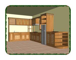 Jual Kitchen Set >Harga Kitchen Murah