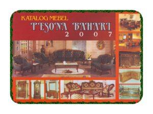 Katalog Mebel Pesona Bahari 2007 -Mebel Jepara Jati
