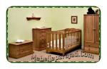 Set Ranjang Bayi Kayu