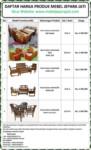 Daftar kursi tamu